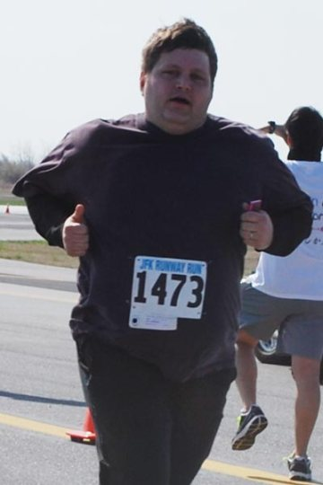 JFK Runway Run, 4/14/13, Finish Line #2