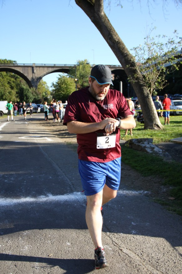 Celtic Classic 5K, 9/28/13, Finish Line