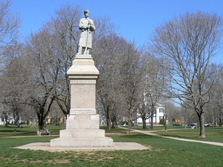 Guilford Soldier's Memorial - also not my picture