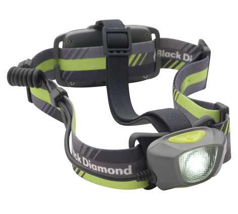 Black Diamond Sprinter Headlamp - I remove the top strap
