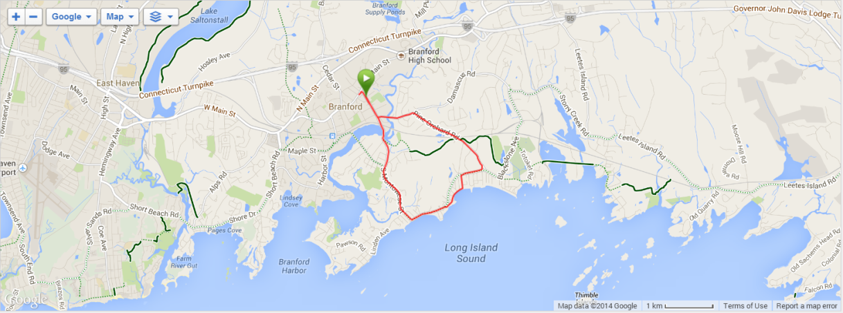 RR #16:  Branford Road Race