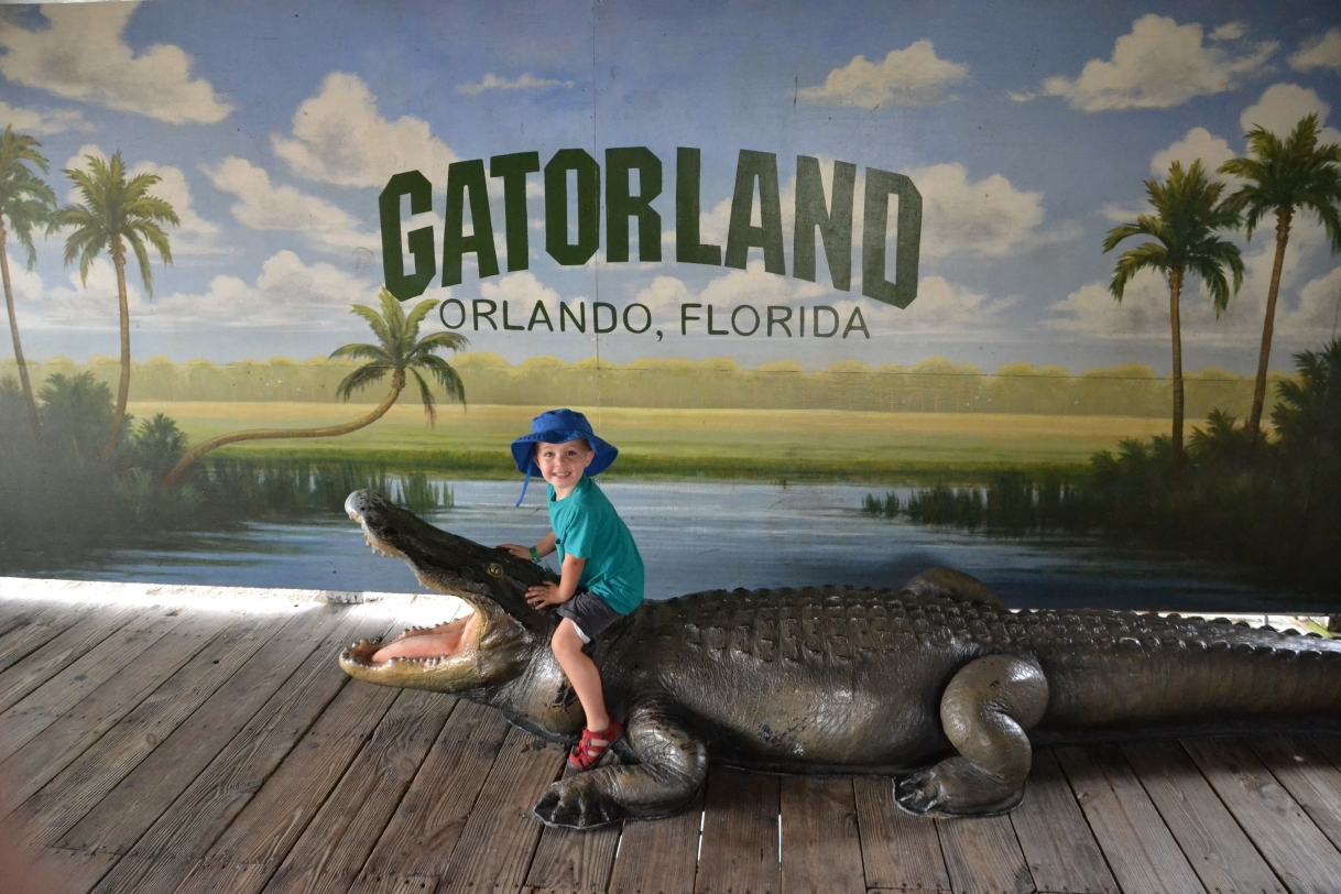 You must go to Gatorland