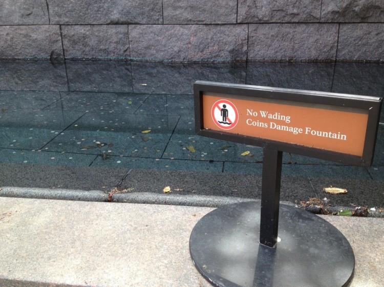 Coins Damage Fountain