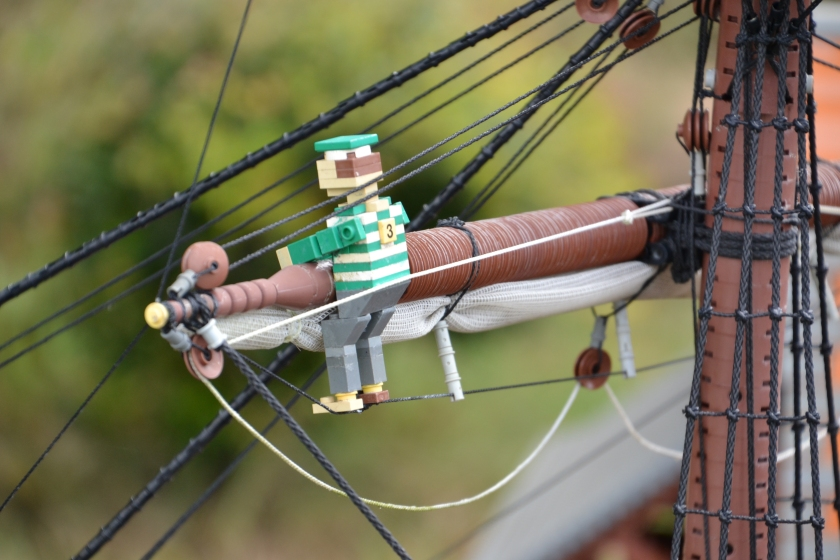 On the pirate ship