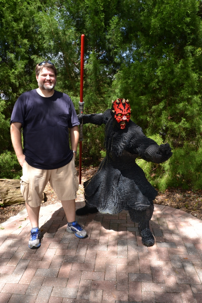 Darth Maul is apparently a short guy