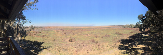 And the prairie stretches before us...
