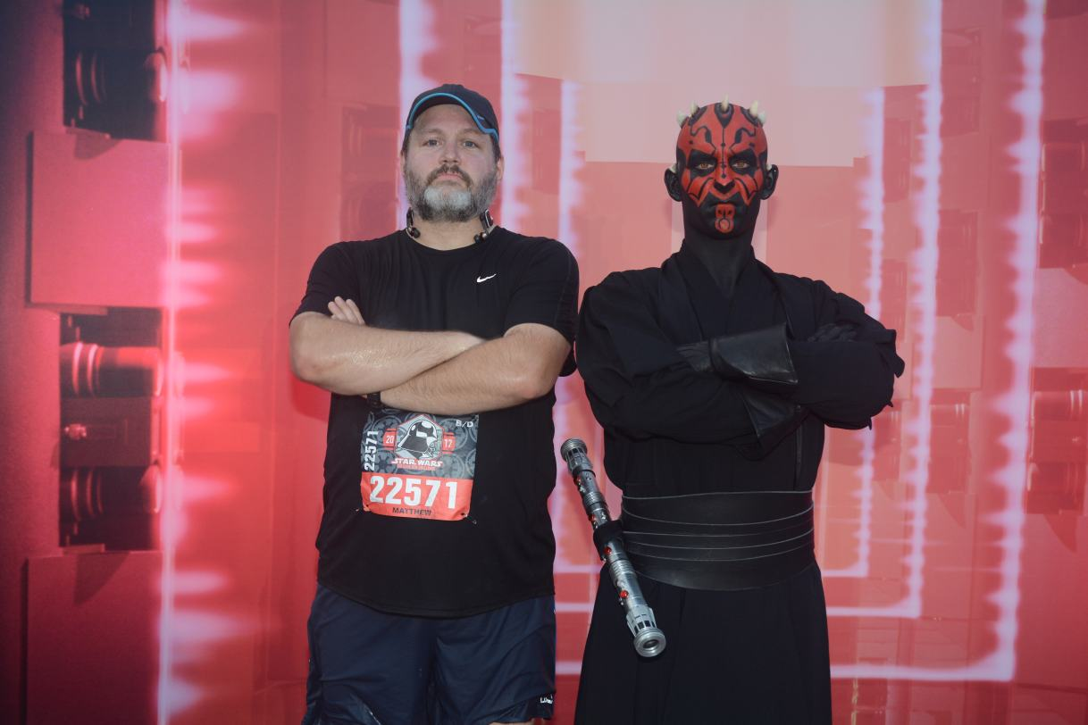 Race Report #25:  Star Wars Dark Side Half Marathon