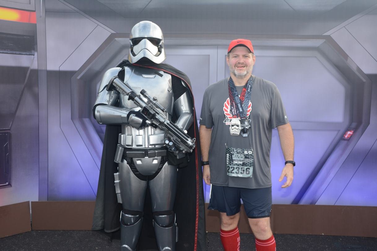 RR #30:  Star Wars Dark Side Half Marathon